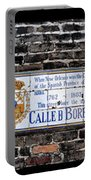 Calle D Borbon Portable Battery Charger by Bill Cannon