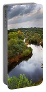 Calm River Portable Battery Charger by Carlos Caetano