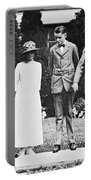 Calvin Coolidge & Family Portable Battery Charger