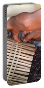 Cambodian Basket Weaver Portable Battery Charger