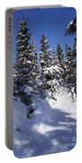 Canadian Winter Scene Portable Battery Charger
