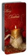 Candle Light Christmas Card Portable Battery Charger