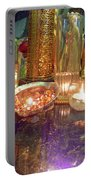 Candle Light Reflections  Portable Battery Charger