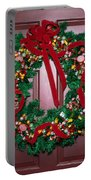 Candy Christmas Wreath Portable Battery Charger