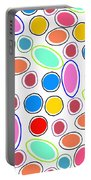 Candy Spots Portable Battery Charger by Louisa Knight
