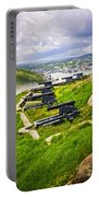 Cannons On Signal Hill Near St. John's Portable Battery Charger