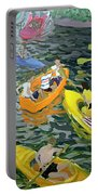 Canoes Portable Battery Charger by Andrew Macara