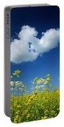 Canola Flowers, Marquette, Manitoba Portable Battery Charger