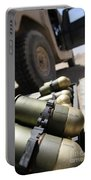Cans Of Opened 40 Mm Grenades Portable Battery Charger