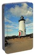 Cape Pogue Lighthouse Marthas Vineyard Portable Battery Charger
