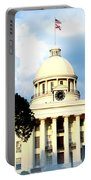 Capitol Building In Montgomery Portable Battery Charger