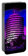 Capitol Records Building Portable Battery Charger