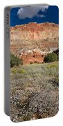Capitol Reef Autumn Wildflowers Portable Battery Charger