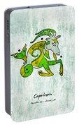 Capricorn Artwork Portable Battery Charger