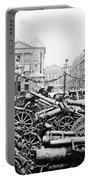 Captured German Guns At Palace De La Concorde In Paris - France Portable Battery Charger