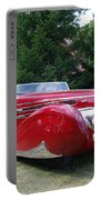 Car At Meadowbrook Portable Battery Charger