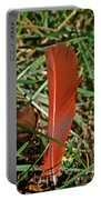 Cardinal Feather Portable Battery Charger