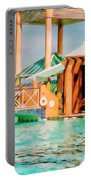 Caribbean-turks And Caicos Sandals Portable Battery Charger