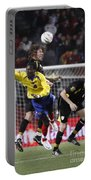 Carles Puyol Jumping Portable Battery Charger