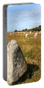 Carnac Standing Stones Portable Battery Charger