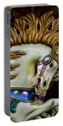 Carousel Horse - 4 Portable Battery Charger