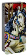 Carousel Horse 2 Portable Battery Charger by Paul Ward