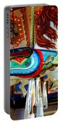Carousel Horse With Fish Portable Battery Charger