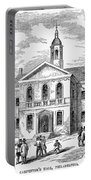 Carpenters Hall, 1855 Portable Battery Charger
