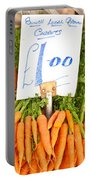 Carrots Portable Battery Charger by Tom Gowanlock