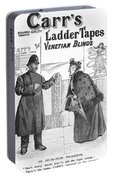 Carrs Ladder Tapes, 1897 Portable Battery Charger