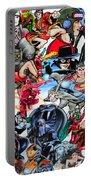 Cartoon Car Detail Portable Battery Charger