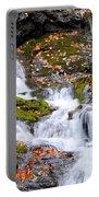 Cascades At Mingo Falls Portable Battery Charger
