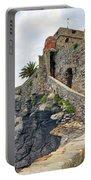 Castello Della Dragonara In Camogli Portable Battery Charger by Joana Kruse