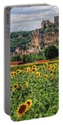 Castle In Dordogne Region France Portable Battery Charger