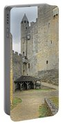 Castle Interior Ground France Portable Battery Charger