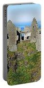 Castle On A Cliff, Dunluce Castle Portable Battery Charger