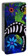 Cat Day Of The Dead Portable Battery Charger