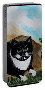 Cat In The Bag Portable Battery Charger