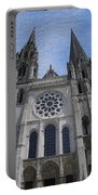 Cathedral At Chartres Portable Battery Charger