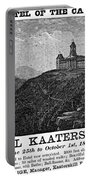 Catskills Hotel, 1884 Portable Battery Charger