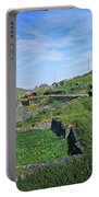 Cattle On The Road, Slea Head, Dingle Portable Battery Charger
