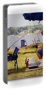 Caught Another One  Portable Battery Charger by Brian Wallace