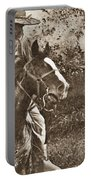 Cavalry Rides Again Portable Battery Charger