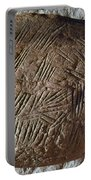 Cave Art: Incised Rock Portable Battery Charger