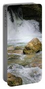 Cave Water Fall Portable Battery Charger