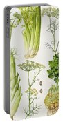 Celery - Fennel - Dill And Celeriac  Portable Battery Charger