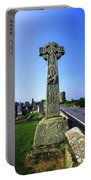 Celtic High Cross At Drumcliff Portable Battery Charger