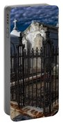 Cemetery Landscape Portable Battery Charger
