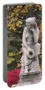 Cemetery Statue 1 Portable Battery Charger