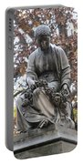 Cemetery Statue 4 Portable Battery Charger